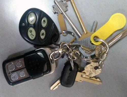 Найдены ключи (связка) в Союзе