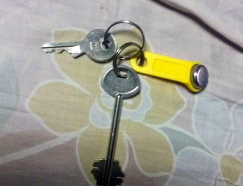 Найдены ключи в районе Дзержинского