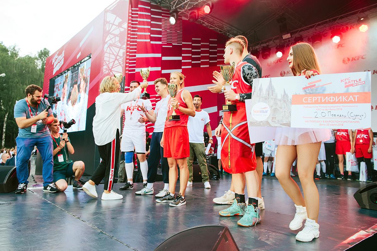 Юные спортсмены сургута выиграли поездку в Европу